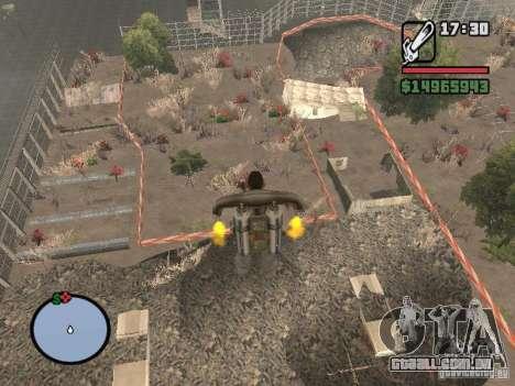 Off-Road v 2.0 de rota para GTA San Andreas quinto tela