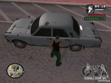 Redesenho do atuador para GTA San Andreas