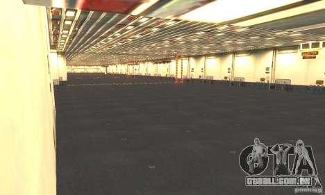 CVN-68 Nimitz para GTA San Andreas quinto tela