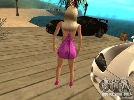 Mia Pinky para GTA San Andreas segunda tela
