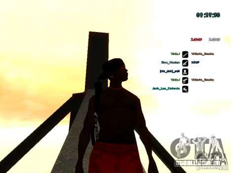 Mochila-pára-quedas para GTA: SA para GTA San Andreas por diante tela