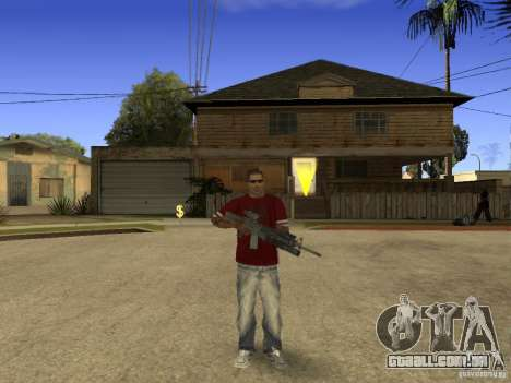 M4 Arma para GTA San Andreas terceira tela