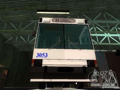 Yumz T2 para GTA San Andreas vista interior