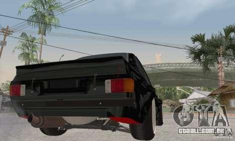 Ford Escort Mk2 para GTA San Andreas vista direita