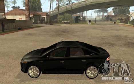 Ford Mondeo 2009 para GTA San Andreas esquerda vista