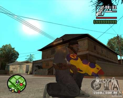 Pistola d'água para GTA San Andreas