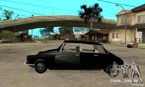 Citroen ID 19 para GTA San Andreas esquerda vista