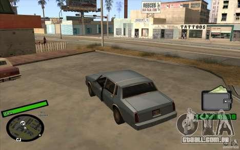 Novo HUD para GTA San Andreas