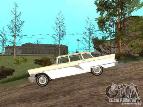 GÁS 13 para GTA San Andreas traseira esquerda vista