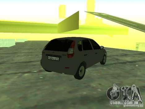 LADA 1119 Hatchback Kalina para GTA San Andreas esquerda vista