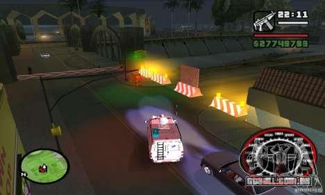 Base GROOVE Street para GTA San Andreas por diante tela