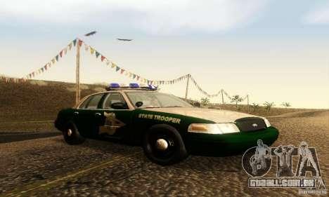 Ford Crown Victoria New Hampshire Police para GTA San Andreas