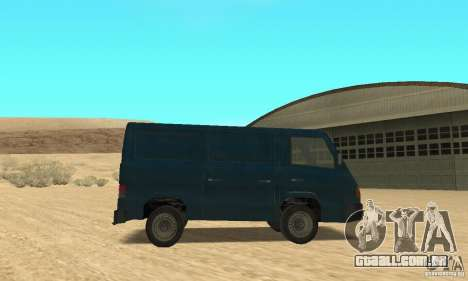 Mercedes-Benz MB100 para GTA San Andreas