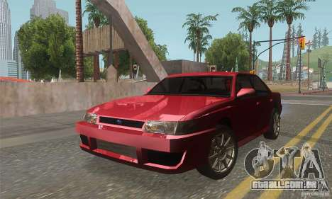 New Sultan HD para GTA San Andreas