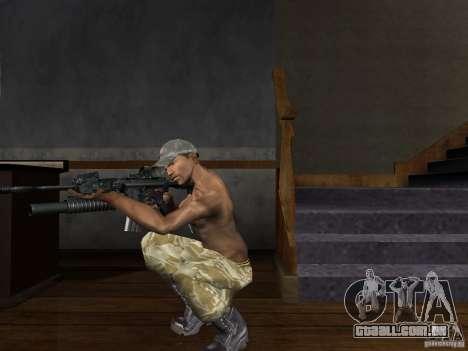 Chapéus de Call of Duty 4: Modern Warfare para GTA San Andreas por diante tela