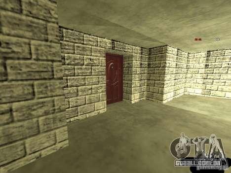 Bistrô de novo Marco interior para GTA San Andreas