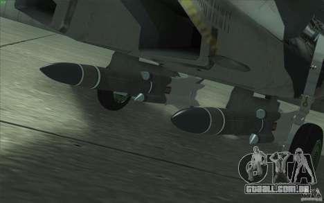 Su-35 BM v 2.0 para o motor de GTA San Andreas