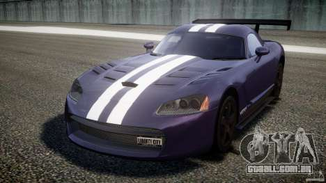 Dodge Viper RT 10 Need for Speed:Shift Tuning para GTA 4