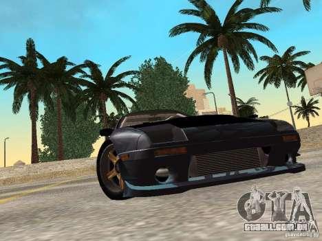 Mazda RX-7 FC3s Re-Amemiya para GTA San Andreas esquerda vista