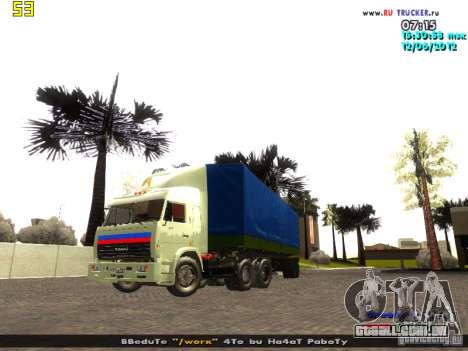 Nefaz 93344 para GTA San Andreas vista direita