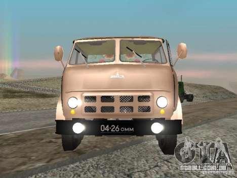 MAZ 503 para GTA San Andreas vista direita