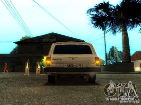 GAZ VOLGA 310221 TUNING versão para GTA San Andreas vista traseira
