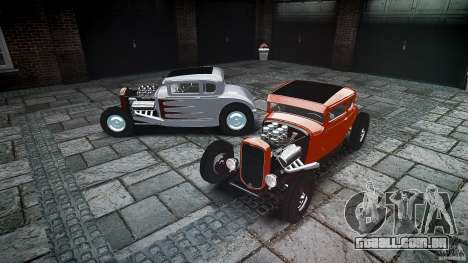 Ford Hot Rod 1931 para GTA 4 vista inferior