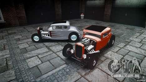Ford Hot Rod 1931 para GTA 4 vista inferior