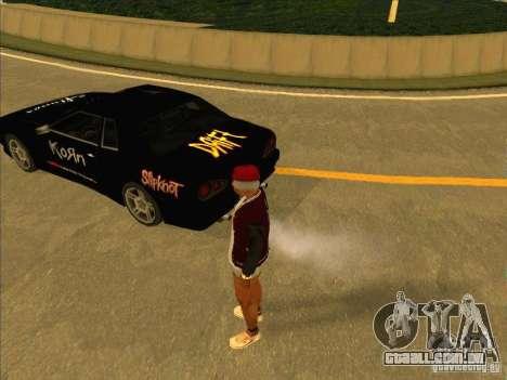 Vinil de metal Drift para GTA San Andreas esquerda vista