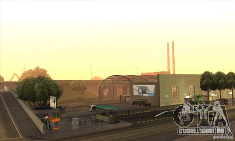 BUSmod para GTA San Andreas quinto tela