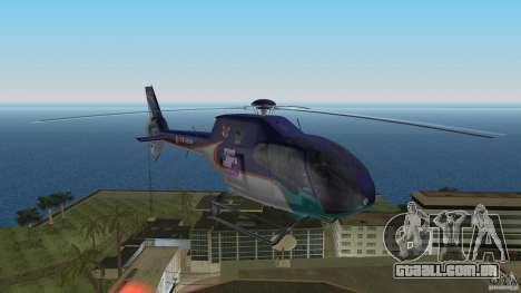 Eurocopter Ec-120 Colibri para GTA Vice City deixou vista
