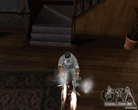 Tec 9 (HQ) para GTA San Andreas terceira tela