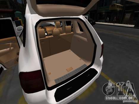 Porsche Cayenne Turbo 2003 v.2.0 para GTA 4 motor