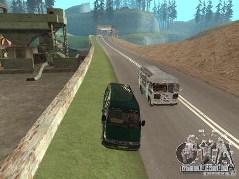 GAZ 32213 para GTA San Andreas vista interior