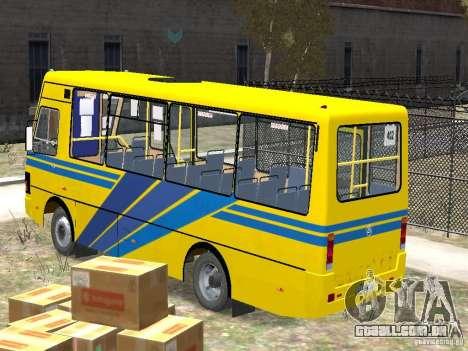 BASES-079.14 padrão para GTA 4 esquerda vista
