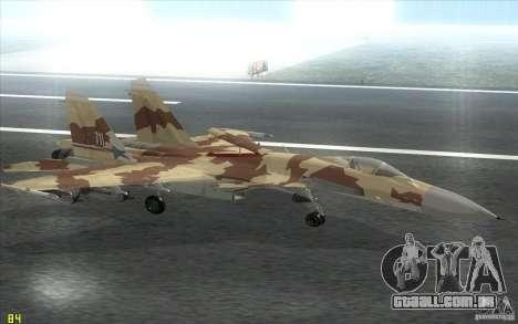 O Su-37 Terminator para GTA San Andreas