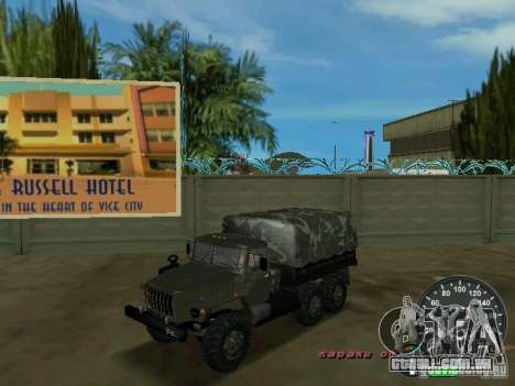 Ural 4320 militar para GTA Vice City