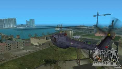 Maverick Bell-Huey para GTA Vice City vista direita