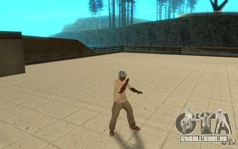 Diferentes estilos de para GTA San Andreas