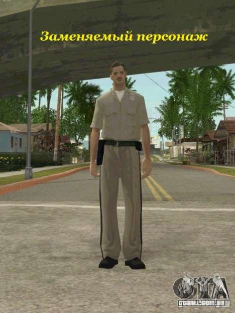 Counter-terrorist para GTA San Andreas twelth tela