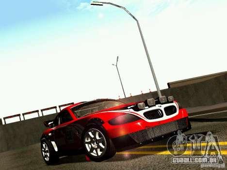 BMW Z4 Rally Cross para o motor de GTA San Andreas