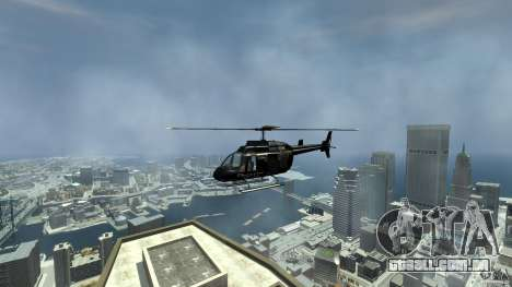 Helicopter Generation-GTA para GTA 4 vista direita