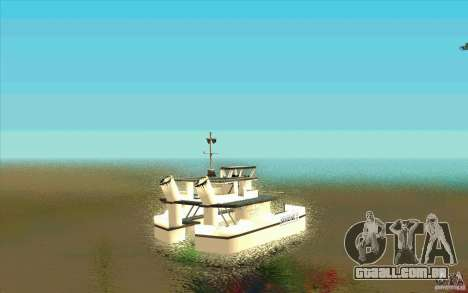 Ferry para GTA San Andreas traseira esquerda vista