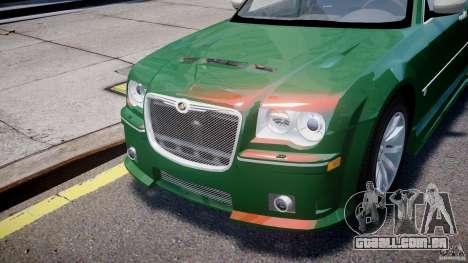 Chrysler 300C SRT8 Tuning para GTA 4 vista superior