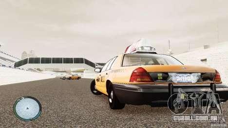Ford Crown Victoria 2003 NYC Taxi para GTA 4 traseira esquerda vista