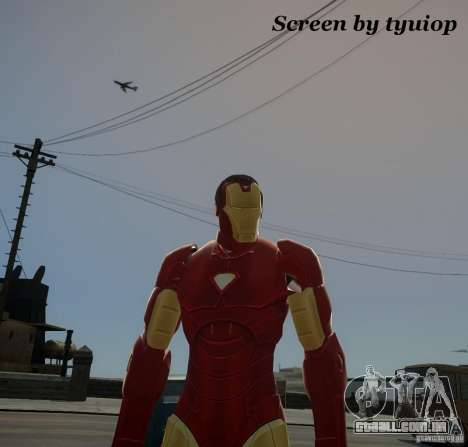 Iron Man Mk3 Suit para GTA 4