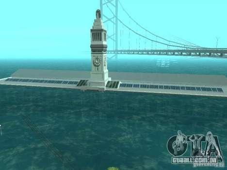 Inundação para GTA San Andreas por diante tela