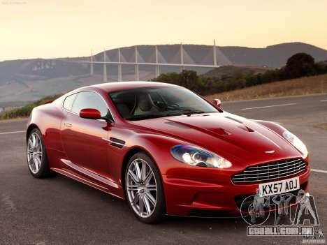Aston Martin DBS V12 para GTA Vice City vista direita