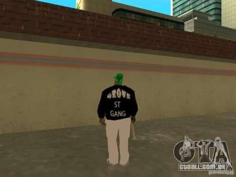 Novo Groove grosso para GTA San Andreas quinto tela