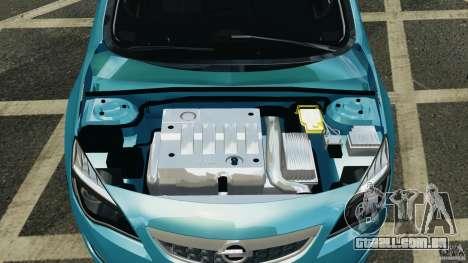 Opel Astra 2010 v2.0 para GTA 4 vista de volta